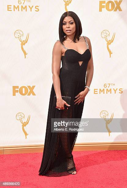 Actress Taraji P Henson attends the 67th Emmy Awards at Microsoft Theater on September 20 2015 in Los Angeles California 25720_001