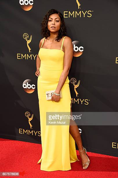 Actress Taraji P Henson attends the 68th Annual Primetime Emmy Awards at Microsoft Theater on September 18 2016 in Los Angeles California