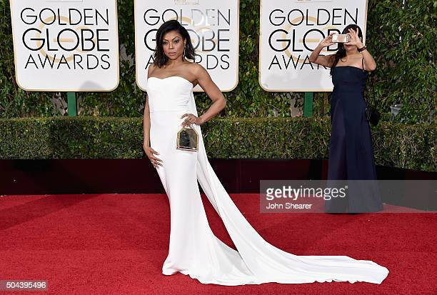 Actress Taraji P Henson attends the 73rd Annual Golden Globe Awards held at the Beverly Hilton Hotel on January 10 2016 in Beverly Hills California