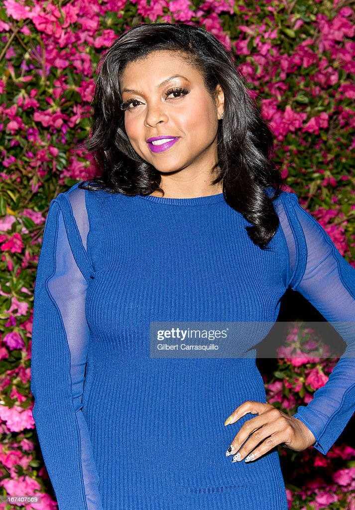 Actress Taraji P. Henson attends the 8th annual Chanel Artists Dinner during the 2013 Tribeca Film Festival at The Odeon on April 24, 2013 in New York City.