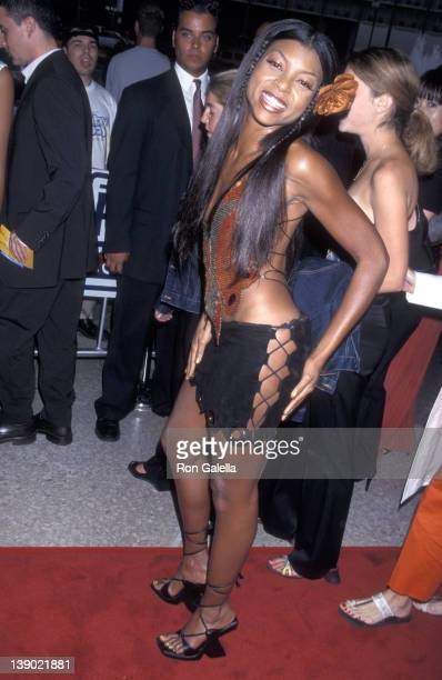 Actress Taraji P Henson attends the Baby Boy Century City Premiere on June 21 2001 at Loews Cineplex Century Plaza Theatres in Century City California