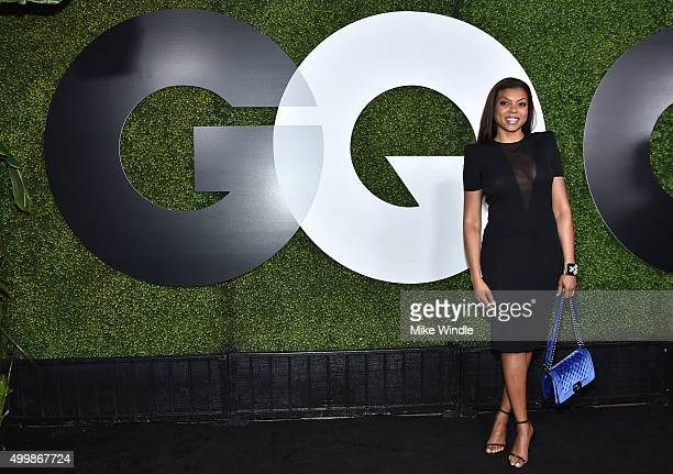 Actress Taraji P Henson attends the GQ 20th Anniversary Men Of The Year Party at Chateau Marmont on December 3 2015 in Los Angeles California