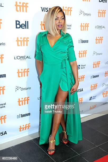 Actress Taraji P Henson attends the 'Hidden Figures' premiere during the 2016 Toronto International Film Festival at TIFF Bell Lightbox on September...