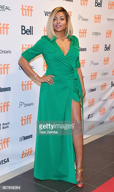 Actress Taraji P Henson attends the premiere of Hidden Figures during the 2016 Toronto International Film Festival at TIFF Bell Lightbox on September...