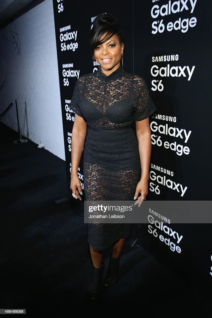 Actress Taraji P. Henson attends the Samsung Galaxy S 6 edge launch on April 2, 2015 in Los Angeles, California.
