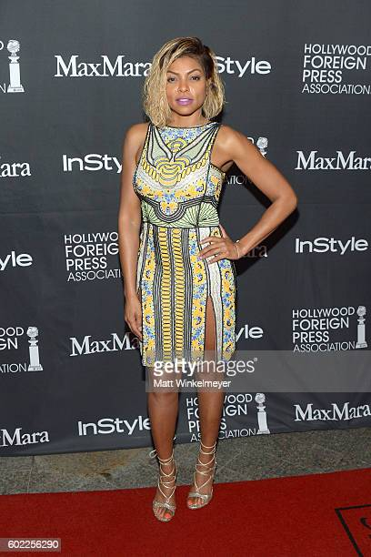 Actress Taraji P Henson attends the TIFF/InStyle/HFPA Party during the 2016 Toronto International Film Festival at Windsor Arms Hotel on September 10...