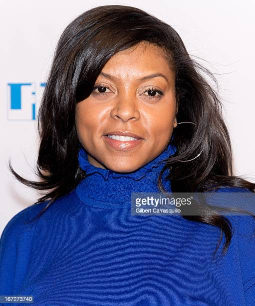 Actress Taraji P. Henson attends Tribeca Teaches during the 2013 Tribeca Film Festival at BMCC Tribeca PAC on April 23, 2013 in New York City.