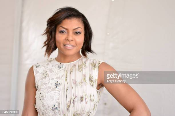 Actress Taraji P Henson during the 2017 Film Independent Spirit Awards at the Santa Monica Pier on February 25 2017 in Santa Monica California