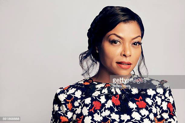 Actress Taraji P Henson from FOX's 'Empire' poses for a portrait at the FOX Summer TCA Press Tour at Soho House on August 9 2016 in Los Angeles...