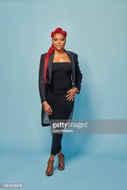 Actress Taraji P. Henson is photographed for Entrepreneur Magazine on August 26, 2020 in Los Angeles, California.