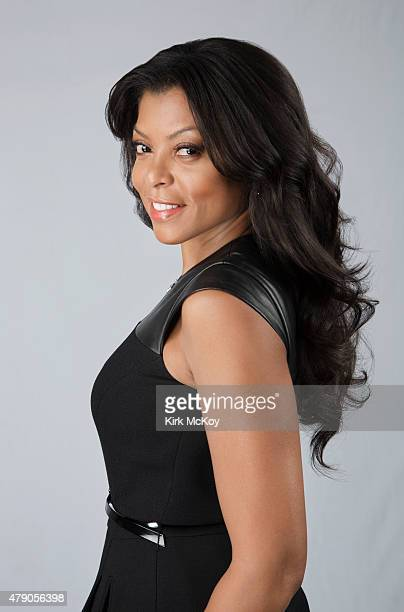 Actress Taraji P Henson is photographed for Los Angeles Times on April 24 2015 in Los Angeles California PUBLISHED IMAGE CREDIT MUST BE Kirk...