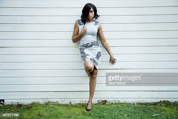 Actress Taraji P Henson is photographed for Los Angeles Times on March 6 2015 in Los Angeles California PUBLISHED IMAGE CREDIT MUST READ Gina...