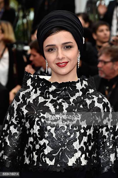 Actress Taraneh Alidoost attends the closing ceremony of the 69th annual Cannes Film Festival at the Palais des Festivals on May 22 2016 in Cannes...