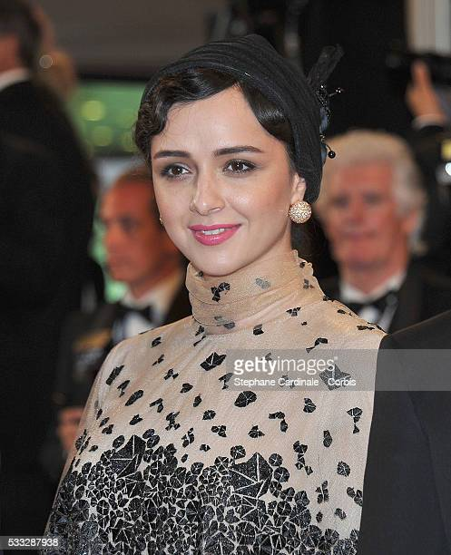 Actress Taraneh Alidoosti attends the Elle premiere during the 69th annual Cannes Film Festival at the Palais des Festivals on May 21 2016 in Cannes...