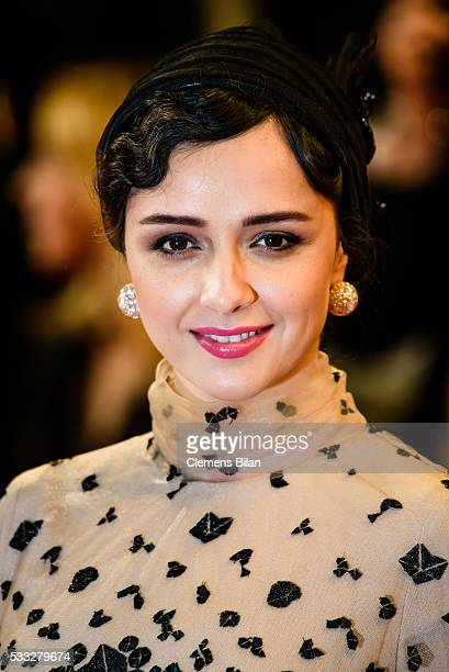Actress Taraneh Alidoosti attends 'The Salesman ' Premiere during the 69th annual Cannes Film Festival at the Palais des Festivals on May 21 2016 in...