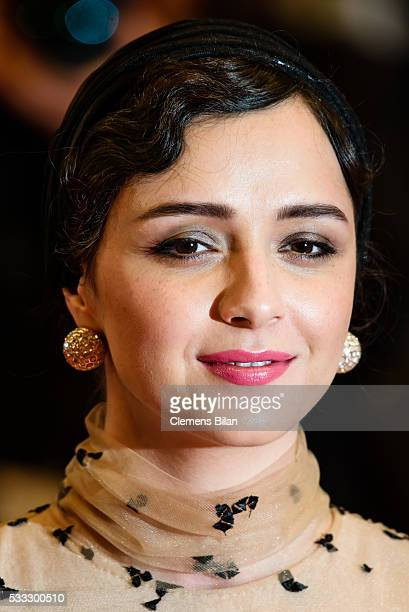 Actress Taraneh Alidoosti attends The Salesman Premiere during the 69th annual Cannes Film Festival at the Palais des Festivals on May 21 2016 in...