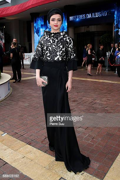 Actress Taraneh Alidoosti poses at the Majestic Hotel during the 69th Annual Cannes Film Festival on May 22 2016 in Cannes