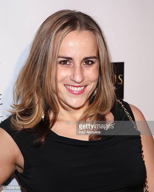 Actress Taryn Hillin attends the premiere 'PERNICIOUS' at Arena Cinema Hollywood on June 19 2015 in Hollywood California