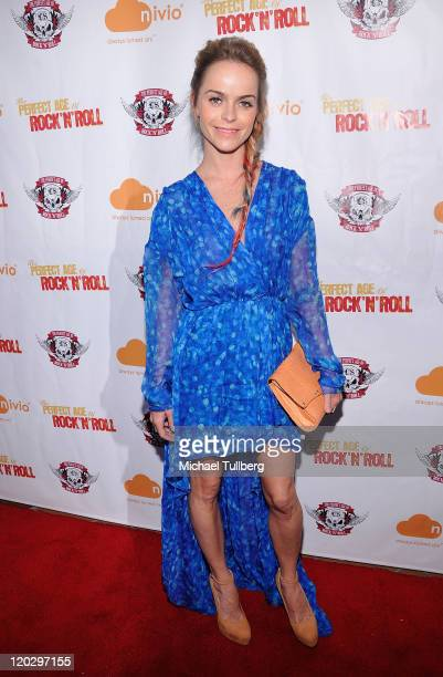 """Actress Taryn Manning arrives at a screening of the film """"The Perfect Age Of Rock 'N' Roll"""" on August 3, 2011 in Los Angeles, California."""