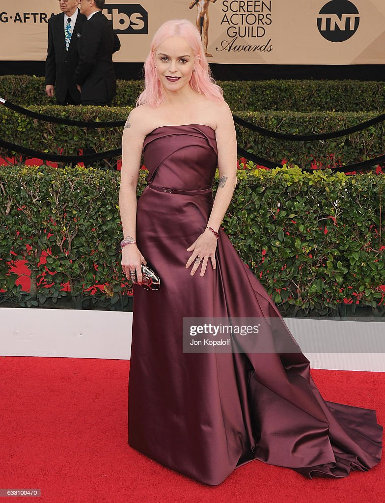 Actress Taryn Manning arrives at the 23rd Annual Screen Actors Guild Awards at The Shrine Expo Hall on January 29, 2017 in Los Angeles, California.