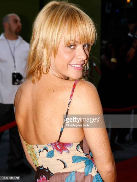 Actress Taryn Manning arrives at the Hollywood launch of PlatinumLounge.com at The Globe Theatre on July 7, 2007 in Los Angeles California