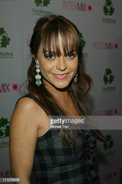 Actress Taryn Manning arrives at the Intermix Boutique store opening at the Intermix Boutique store on September 25 2007 in West Hollywood California