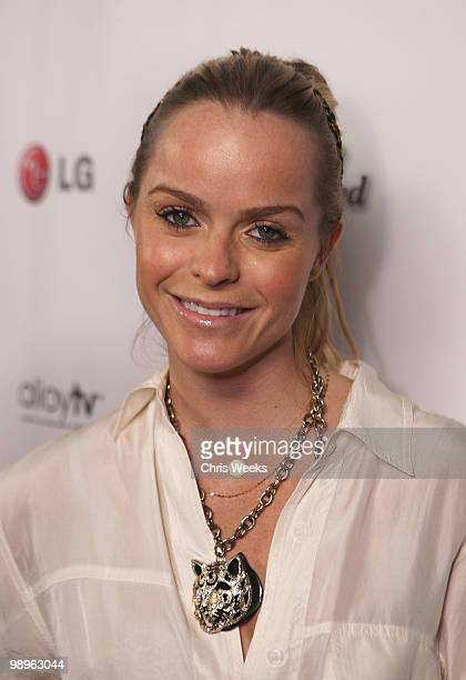 """Actress Taryn Manning attends a party for """"Haute & Bothered"""" Season 2 hosted by LG Mobile at the Thompson Hotel on May 10, 2010 in Beverly Hills,..."""