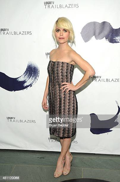 Actress Taryn Manning attends Logo TV's Trailblazers at the Cathedral of St John the Divine on June 23 2014 in New York City