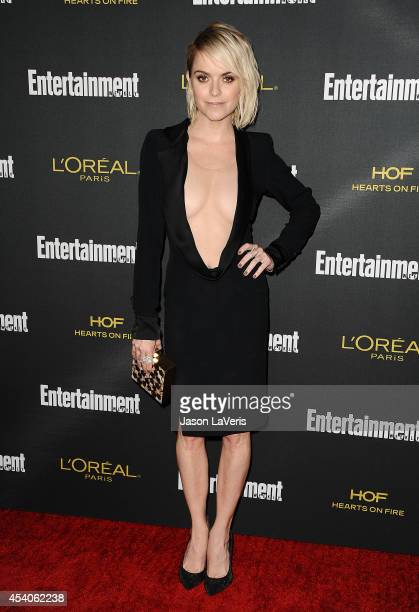 Actress Taryn Manning attends the 2014 Entertainment Weekly preEmmy party at Fig Olive Melrose Place on August 23 2014 in West Hollywood California