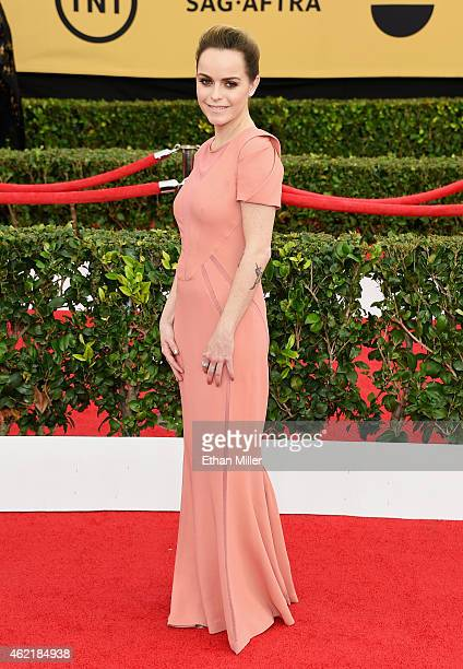 Actress Taryn Manning attends the 21st Annual Screen Actors Guild Awards at The Shrine Auditorium on January 25 2015 in Los Angeles California