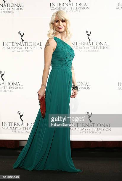 Actress Taryn Manning attends the 41st International Emmy Awards at the Hilton New York on November 25 2013 in New York City