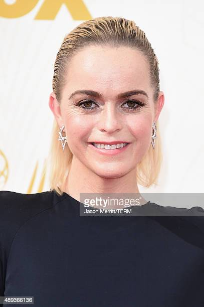 Actress Taryn Manning attends the 67th Annual Primetime Emmy Awards at Microsoft Theater on September 20, 2015 in Los Angeles, California.