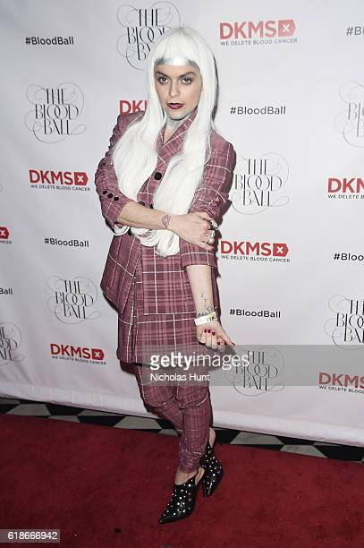 Actress Taryn Manning attends the DKMS 2016 Blood Ball at Diamond Horseshoe on October 27 2016 in New York City