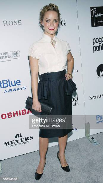 Actress Taryn Manning attends the Hollywood Style Awards at the Pacific Design Center on October 2, 2005 in Los Angeles, California.