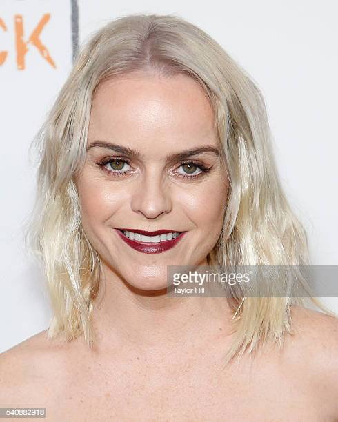 Actress Taryn Manning attends the 'Orange is the New Black' premiere at SVA Theater on June 16 2016 in New York City