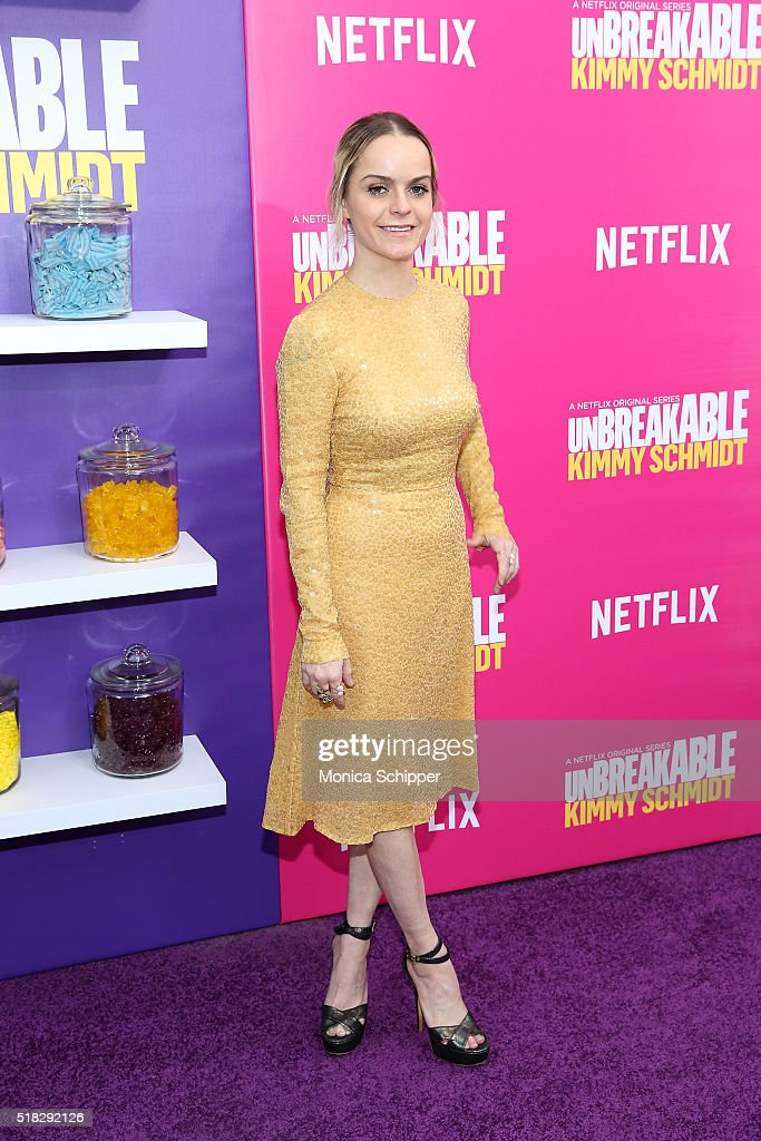 Actress Taryn Manning attends the 'Unbreakable Kimmy Schmidt' season 2 world premiere at SVA Theatre on March 30, 2016 in New York City.