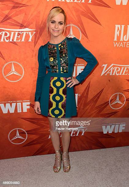 Actress Taryn Manning attends the Variety and Women in Film Annual PreEmmy Celebration at Gracias Madre on September 18 2015 in West Hollywood...