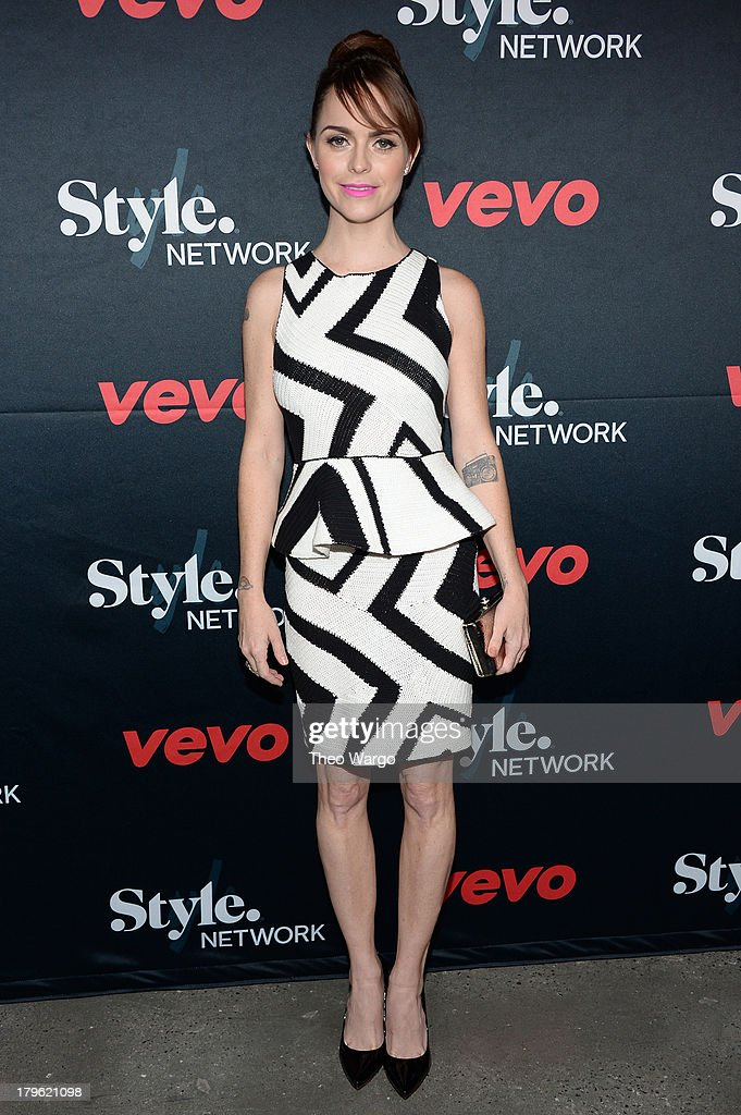 Actress Taryn Manning attends the VEVO and Styled To Rock Celebration Hosted by Actress, Model and 'Styled to Rock' Mentor Erin Wasson with Performances by Bridget Kelly & Cazzette on September 5, 2013 in New York City.