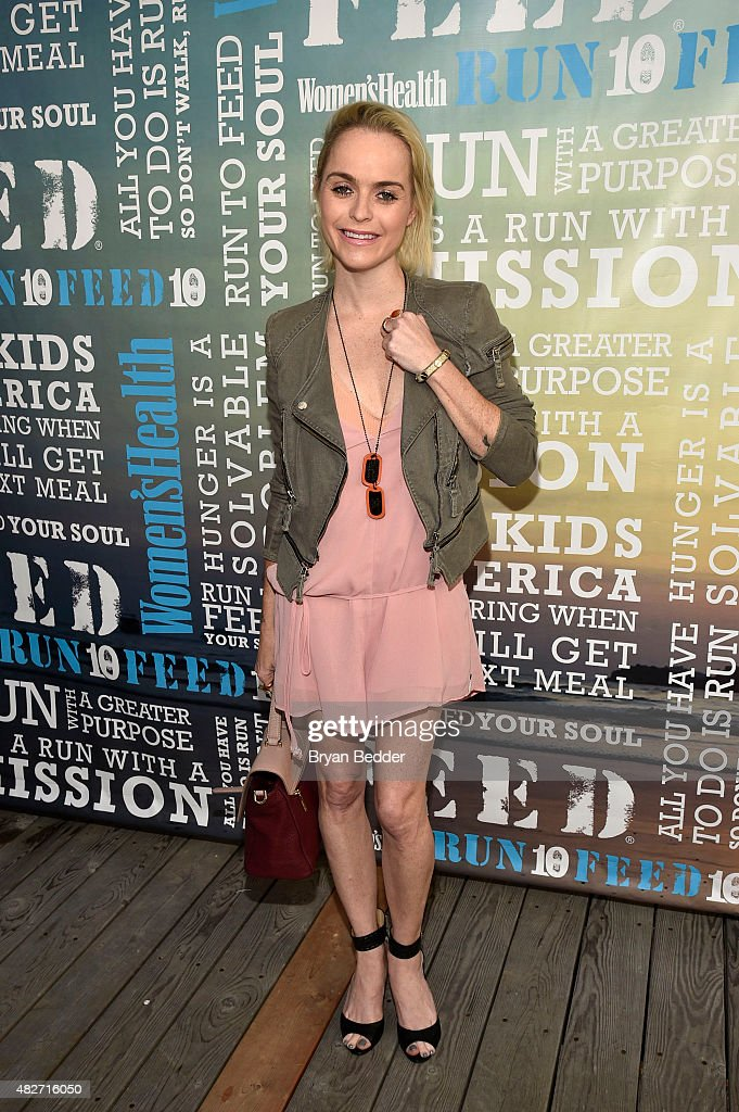 Actress Taryn Manning attends the Women's Health's 4th annual party under the stars for RUN10 FEED10 on August 1, 2015 in Bridgehampton, New York.
