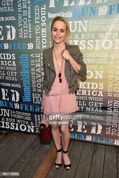 Actress Taryn Manning attends the Women's Health's 4th annual party under the stars for RUN10 FEED10 on August 1 2015 in Bridgehampton New York
