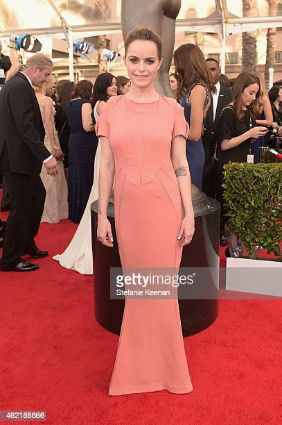 Actress Taryn Manning attends TNT's 21st Annual Screen Actors Guild Awards at The Shrine Auditorium on January 25 2015 in Los Angeles California...