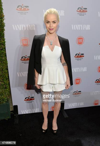 Actress Taryn Manning attends Vanity Fair and FIAT celebration of 'Young Hollywood' during Vanity Fair Campaign Hollywood at No Vacancy on February...