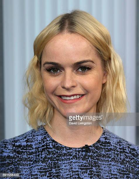 Actress Taryn Manning visits Hollywood Today Live at W Hollywood on August 17, 2016 in Hollywood, California.