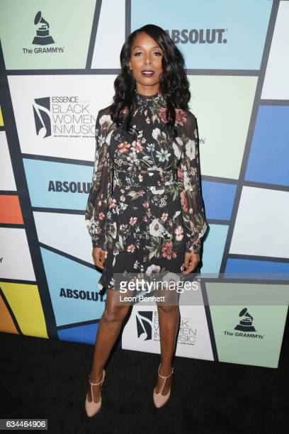 Actress Tasha Smith attends 2017 Essence Black Women in Music at NeueHouse Hollywood on February 9 2017 in Los Angeles California