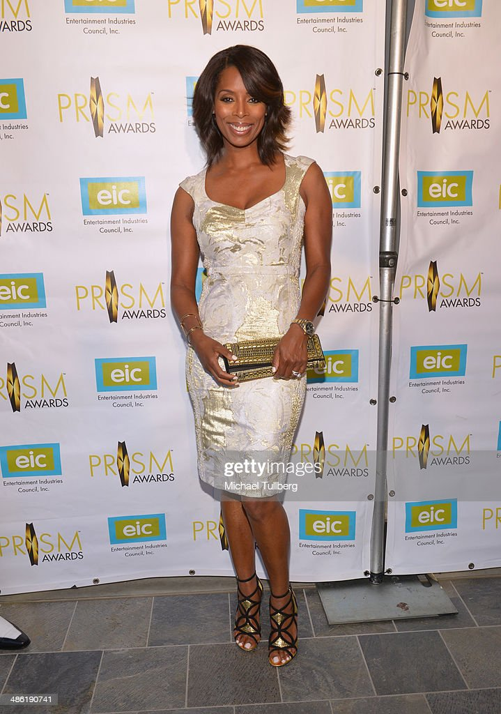 Actress Tasha Smith attends the 18th Annual PRISM Awards Ceremony at Skirball Cultural Center on April 22, 2014 in Los Angeles, California.