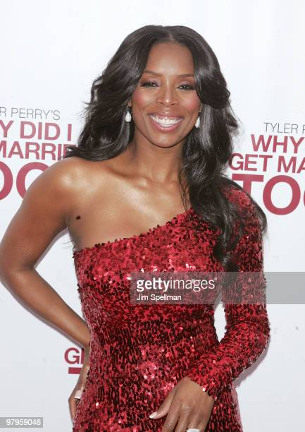Actress Tasha Smith attends the premiere of 'Why Did I Get Married Too' at the School of Visual Arts Theater on March 22 2010 in New York City