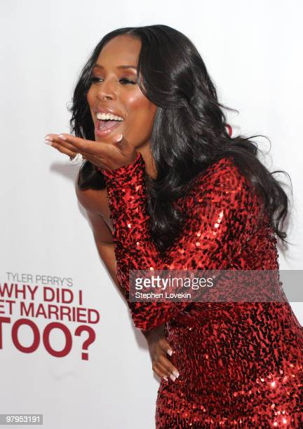 Actress Tasha Smith attends the special screening of 'Why Did I Get Married Too' at the School of Visual Arts Theater on March 22 2010 in New York...