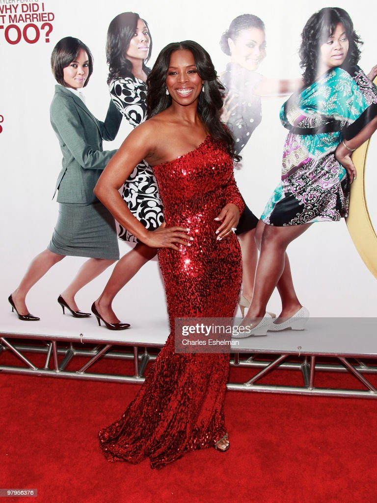 Actress Tasha Smith attends the special screening of 'Why Did I Get Married Too?' at the School of Visual Arts Theater on March 22, 2010 in New York City.
