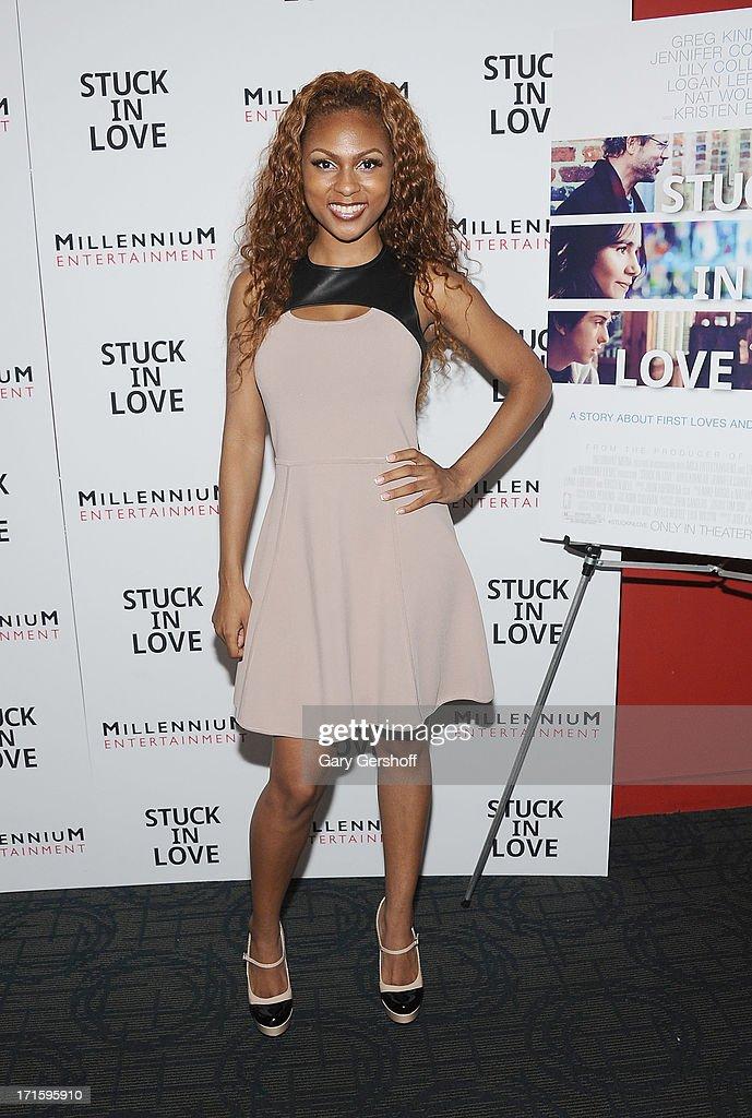 Tashiana Washington attends the CrazySexyCool Premiere