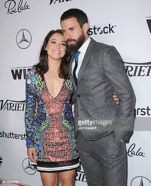 Actress Tatiana Maslany and actor Tom Cullen arrive at Variety And Women In Film's PreEmmy Celebration at Gracias Madre on September 16 2016 in West...